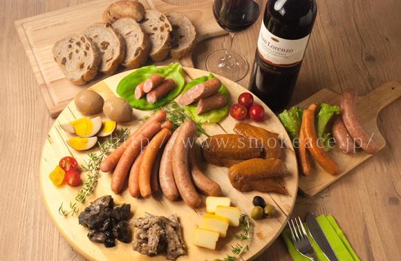 ワインと燻製の相性
