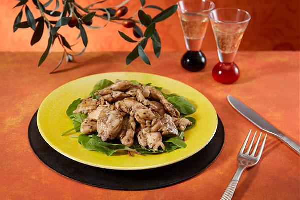 鶏オリエンタルハーブ焼き