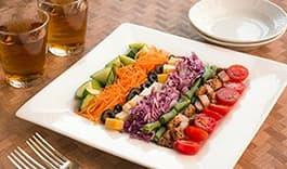 彩りも鮮やか簡単コブサラダ