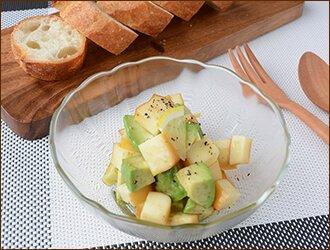 スモークチーズとアボカドサラダ