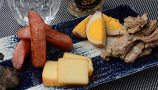 CUBEスモークチーズの調理例をご紹介します
