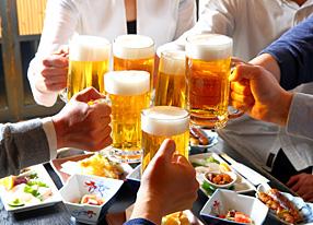 ビールと一緒に仲間と楽しみたい