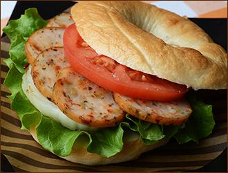 サンドイッチにに