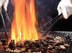 3種類の鶏炭火焼、それぞれの役割