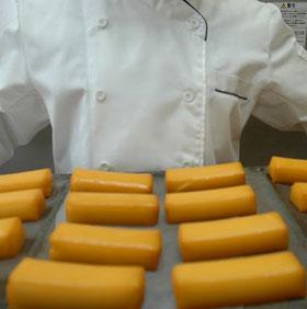 出来立てのスモークチーズ
