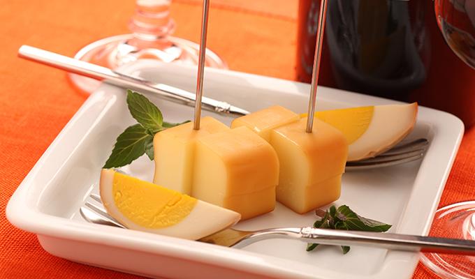 スモークチーズとたまごくんせいの冷凍保存