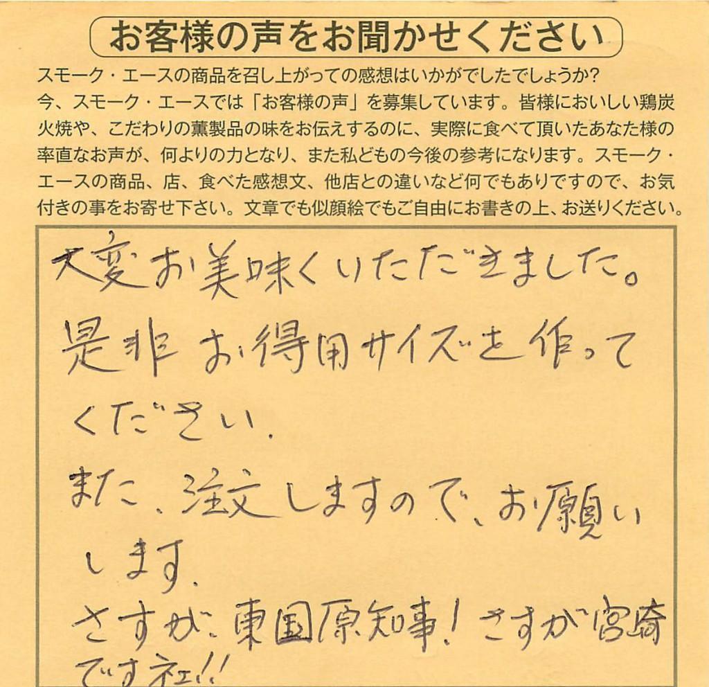 さすが宮崎ですネェ!!