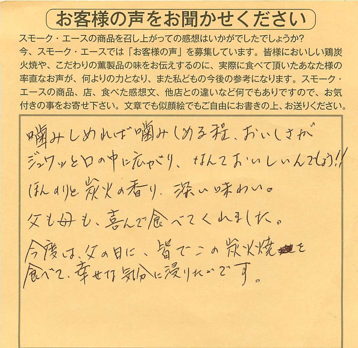 鶏炭火焼|おいしさがジュワッ【No.48】