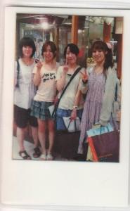 仲良し女子4人組、参上!