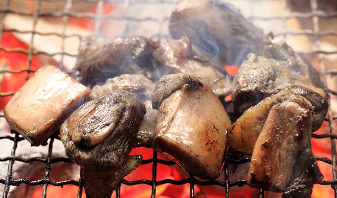 BBQや炭火での地鶏炭火焼の美味しい焼き方