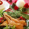 クリスマスチキンを魚焼きグリルで簡単調理