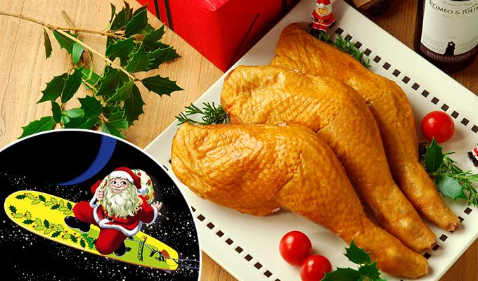 宮崎で大人気のクリスマスチキン