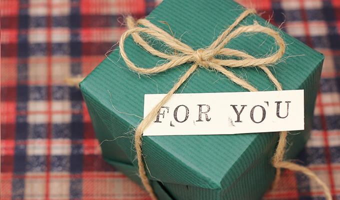 物以外のクリスマスプレゼントを贈る