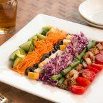 彩り鮮やか、簡単コブサラダ