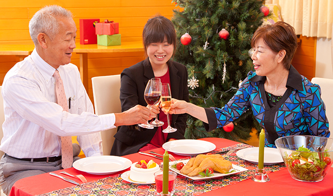 国産クリスマスチキンで素敵なクリスマスを