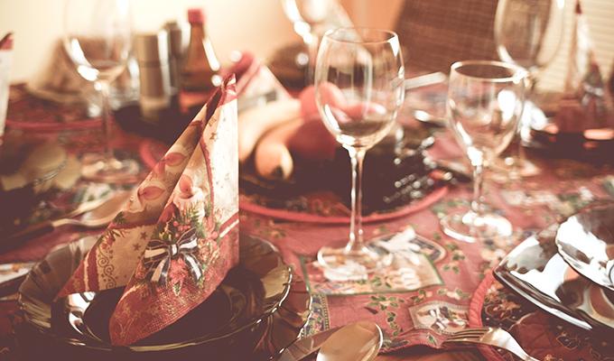 クリスマスを楽しむパーティーセット