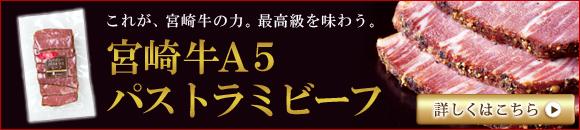 宮崎牛A5パストラミビーフ
