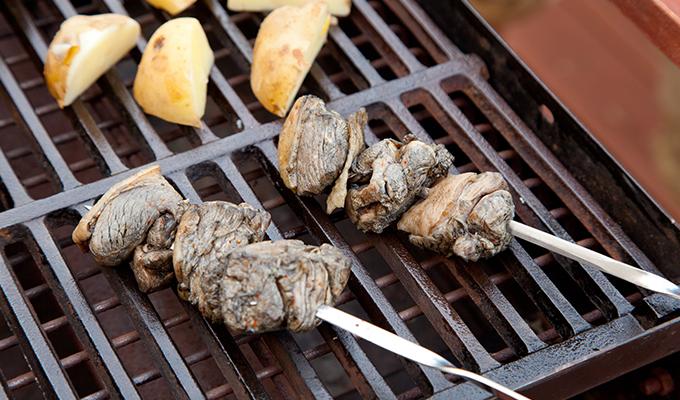 鶏炭火焼レアーの美味しい食べ方
