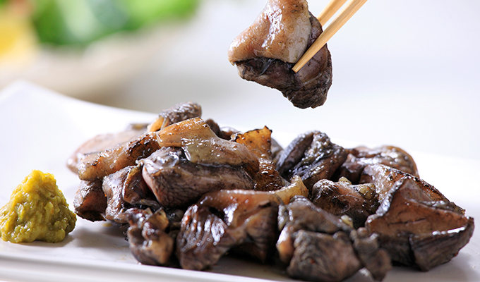 鶏炭火焼の焼き方(フライパン)
