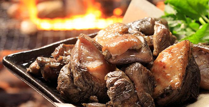 BBQでの炭火焼の焼き方の目安はツヤです