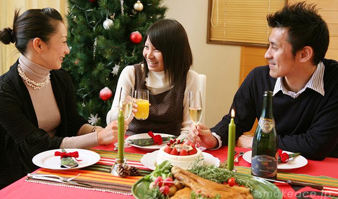 クリスマスにお取り寄せ料理で楽しくパーティー